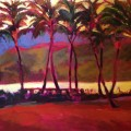 Vintage Kauai 30&quot; X 40&quot; Acrylic on Canvas