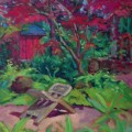 "Garden of Fortune 16"" X 20"" oil on canvas"