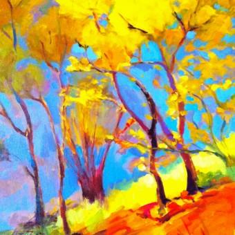 Gli alberi di una bambina #paint52